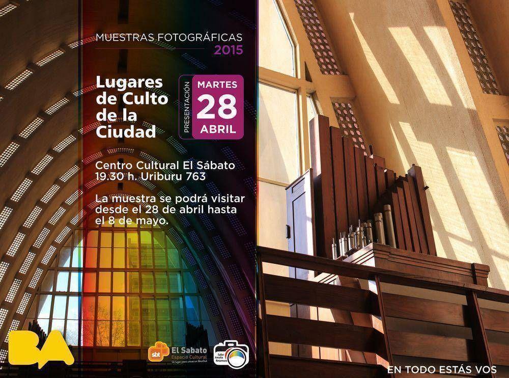 Muestra fotográfica de lugares de culto de Buenos Aires