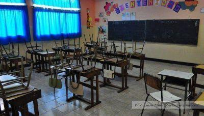 Suspenden las clases en el turno mañana