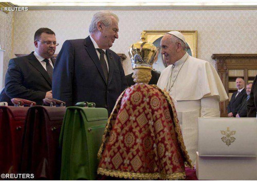 El Papa recibe en audiencia al Presidente checo