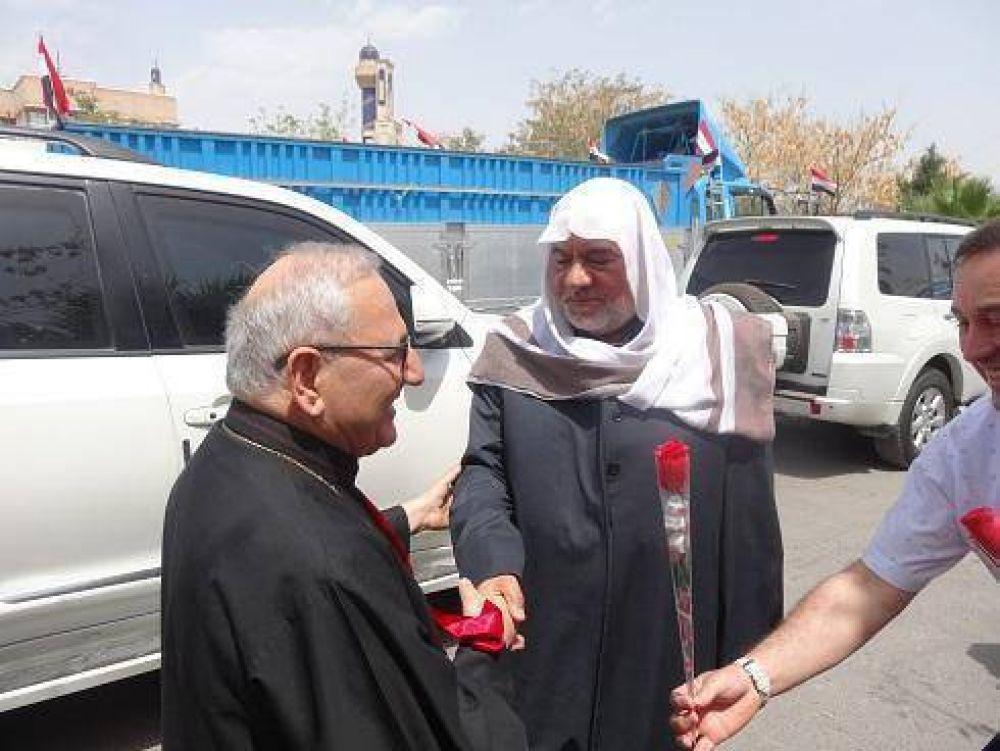 Cáritas Irak y el patriarcado caldeo dan ayuda a 2.000 familias musulmanas