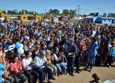 Unas 111 familias cumplieron el sueño de la vivienda propia
