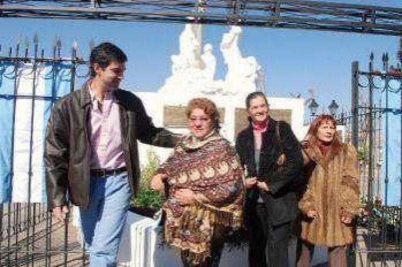 Juan M.Urtubey participó del homenaje a Eva Perón.