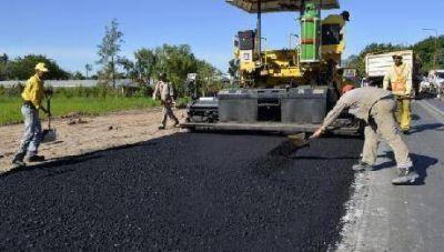 Finaliza la construcción de la dársena de ruta 12 y avenida Centenario