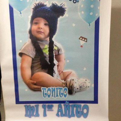 Fabiana Liuzzi celebró el primer cumpleaños de Antonio Ventura