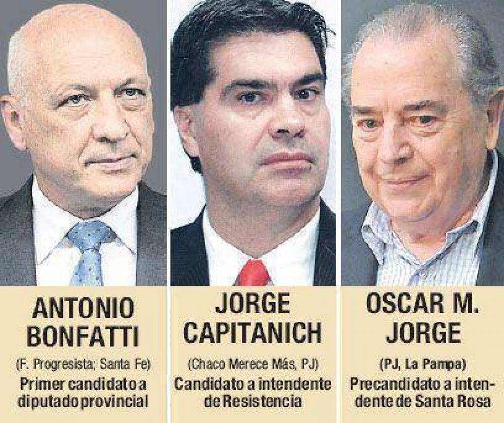 Gobernadores, candidatos en el llano para potenciar chances