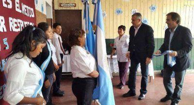 """Morales en Palma Sola – """"trabajo y educación son indisolubles"""""""