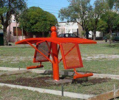 La Municipalidad también crea plazas saludables