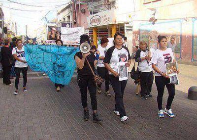 Madres del Dolor marcharon por el centro de San Luis