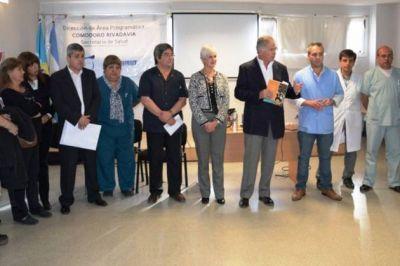 El Ministerio de Salud puso en funciones a los nuevos directivos asociados del �rea Program�tica Sur y del Hospital Regional