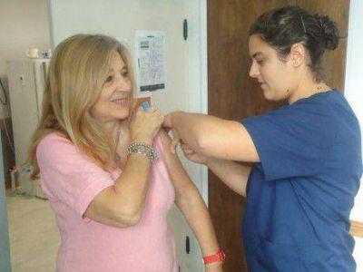 Se inició la campaña de vacunación antigripal en el distrito de Alberti