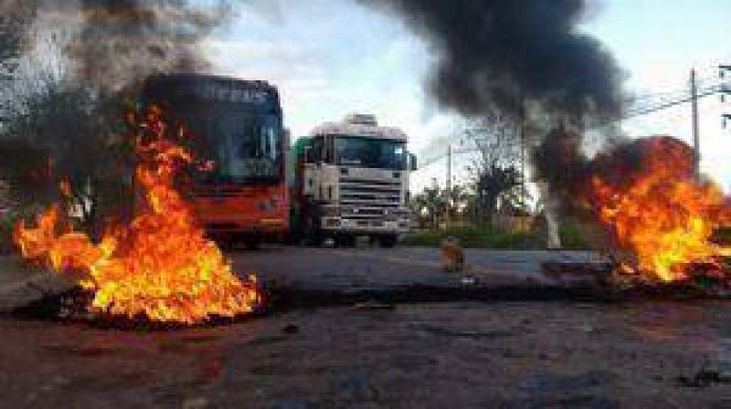 Obreros de UATRE levantaron los cortes de ruta