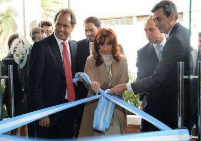 En San Mart�n, Cristina Kirchner destac� la decisi�n de llevar adelante una pol�tica de desarme en el pa�s