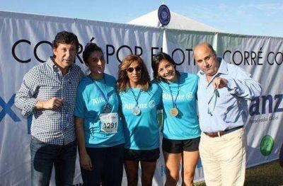 Más de 1.500 personas corrieron la maratón solidaria en San Isidro