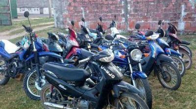 Secuestran 14 motos en un operativo de control vehicular en Chumbicha