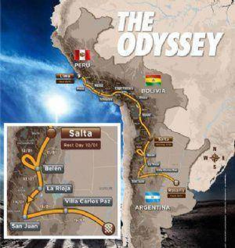 Catamarca tendrá dos vivac en el Dakar 2016