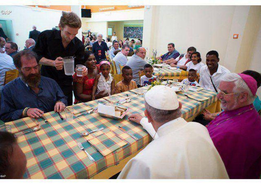 La Iglesia de Roma sea madre atenta de los pobres, pide el Papa