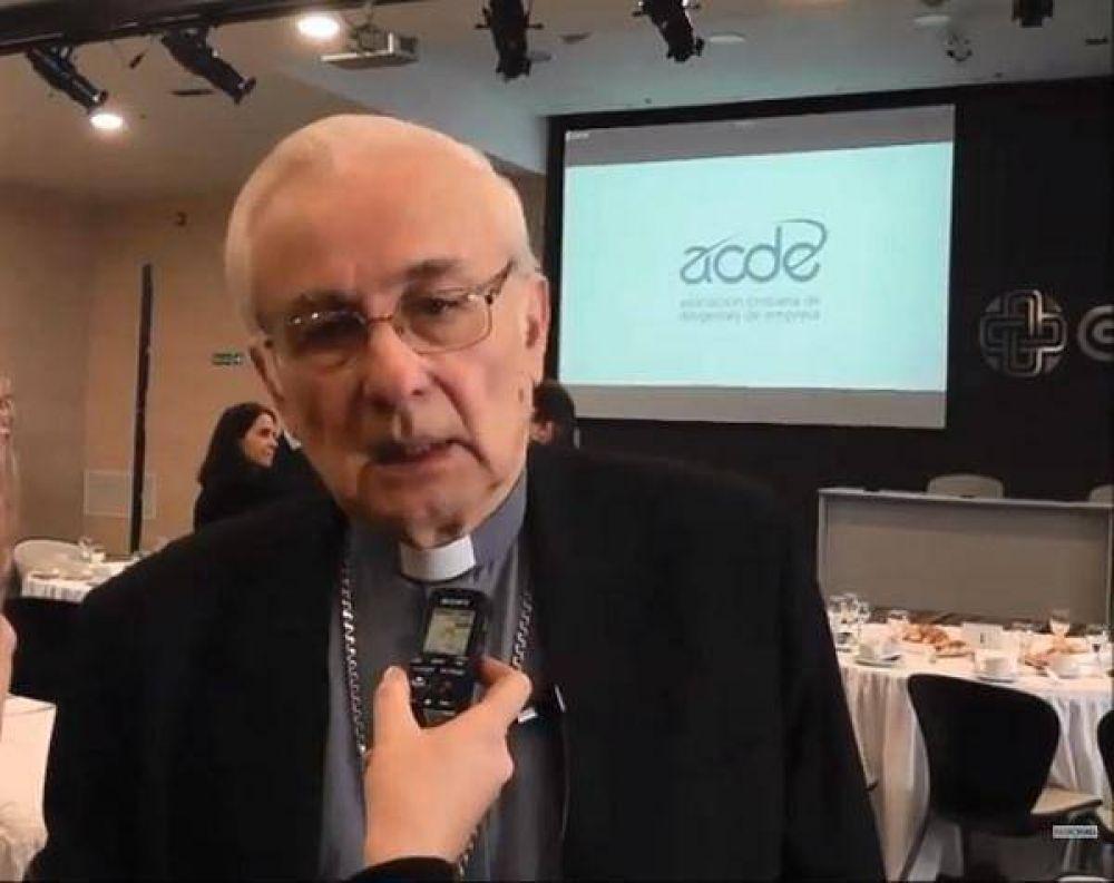 "Mons. Ñáñez denunció que la pobreza ""es un escándalo"" en la Argentina"