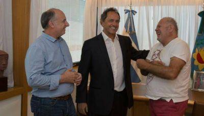 Accastello, con apoyo de Scioli, toma la iniciativa