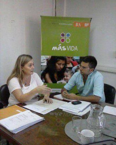 Reunión del Concejal Sotullo de Trenque Lauquen por el Plan Más Vida en La Plata