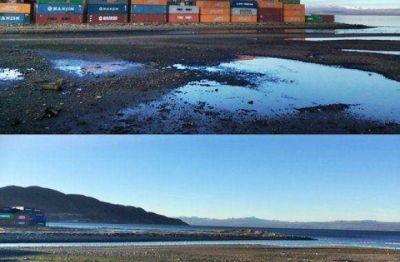 """El Municipio de Ushuaia realizó """"a mayor recuperación costera de los últimos años"""""""