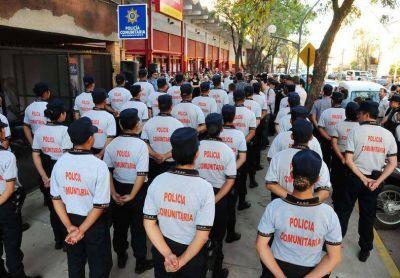 Pusieron en marcha la Policía Comunitaria del barrio Las Flores II de Santa Fe