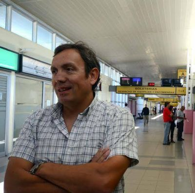 Increment� el n�mero de pasajeros en la ETON por la suspensi�n de vuelos