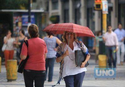 Probabilidad de lluvias y una máxima de 27 grados en la provincia