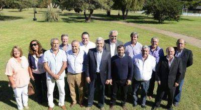 """El """"equipo de la Presidenta"""" se reunió en la Segunda Sección"""