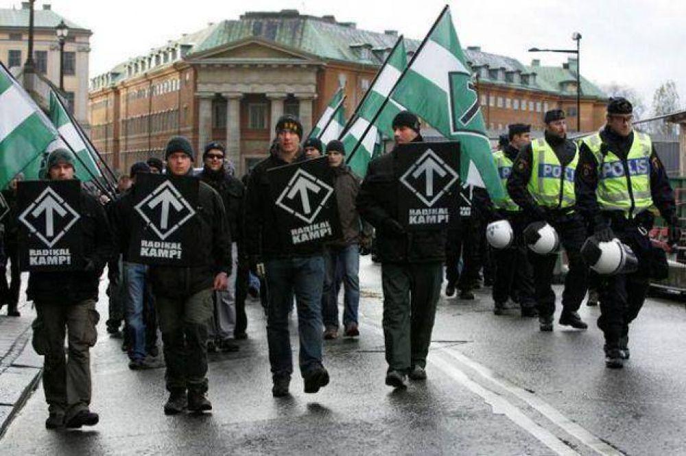 Antisemitismo. Miembros de grupos neonazis irrumpieron en una conferencia de un sobreviviente del Holocausto en Suecia
