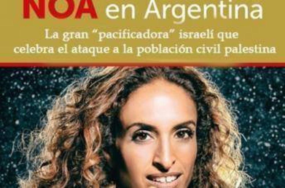 Protesta contra presentación de artista israelí en Buenos Aires