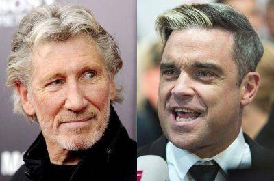 Roger Waters a Robbie Williams: 'Si tomas los derechos humanos en serio, no actúes en Israel'