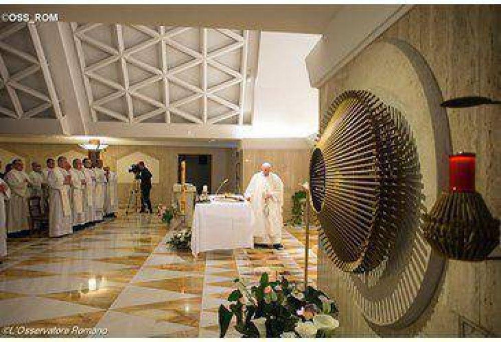 La vida cristiana no es un museo de recuerdos, dijo el Papa en su homilía