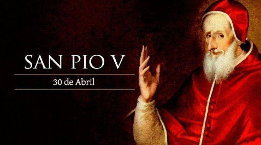 Hoy es fiesta de San Pío V, el pastor que liberó a la Iglesia con el auxilio de María