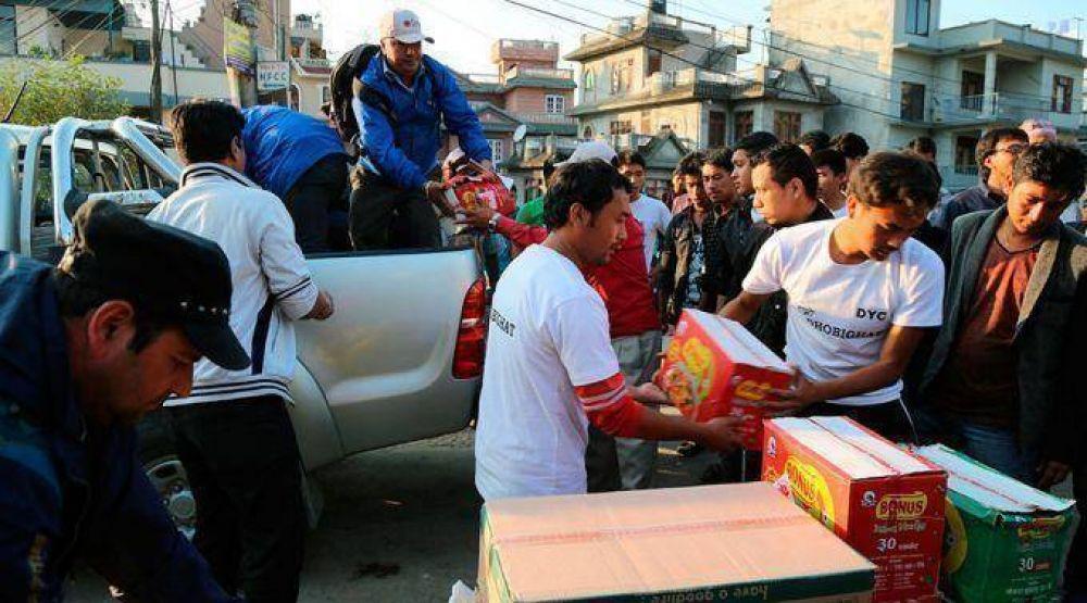 La impresionante respuesta solidaria de la Iglesia Católica ante terremoto en Nepal