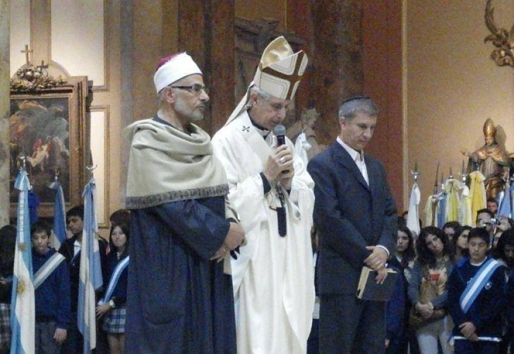 Oración interreligiosa por la paz en la catedral metropolitana