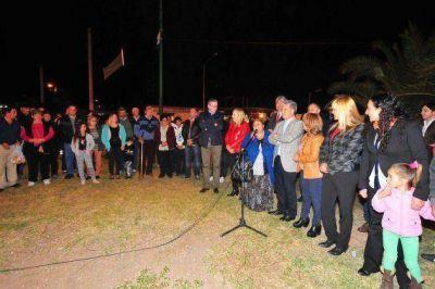 Inauguran un nuevo sistema de iluminaci�n en la Villa de la Quebrada y localidades vecinas