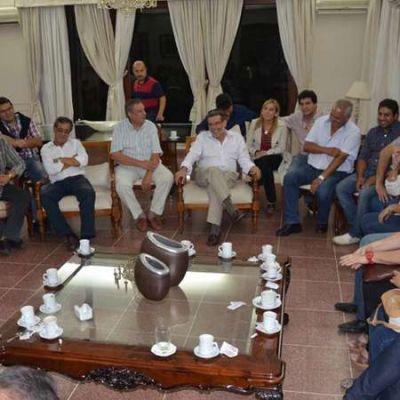 La CGT ratificó su apoyo a Sergio Casas y al proyecto político provincial