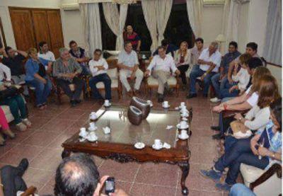 CGT se comprometió a trabajar por la candidatura de Casas