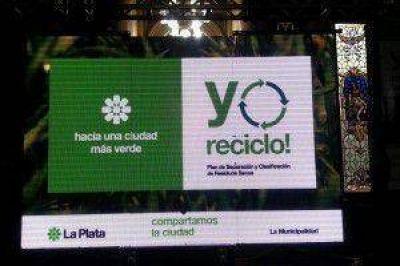 """La Plata: relanzaron el programa """"Yo reciclo"""""""
