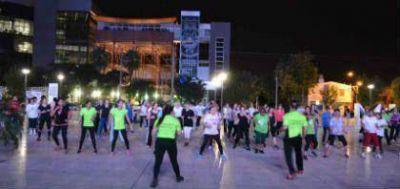 Con gran participación de la familia comenzó la Plaza Saludable en el FORUM