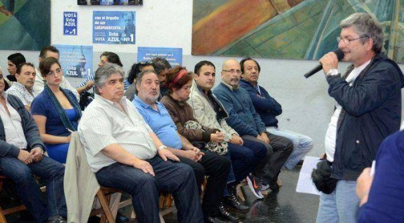 """Rigane: """"Pretendemos que Luz y Fuerza siga creciendo para un mejor futuro de nuestros trabajadores"""""""