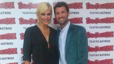 Parece que va en serio: Nazarena Vélez y su novio fueron juntos al teatro