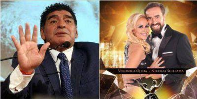 Diego Maradona pretende que Verónica Ojeda no pueda nombrarlo en el Bailando