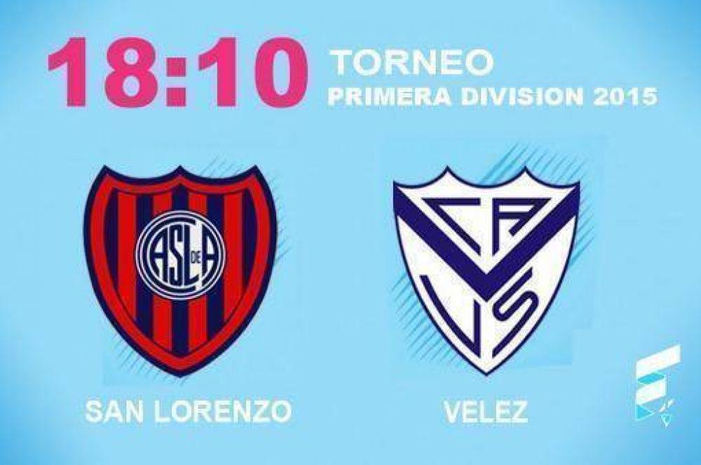 San Lorenzo busca olvidarse de la Copa y recibe a Velez