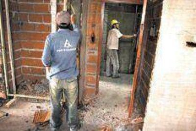 La construcción va entrando en calor