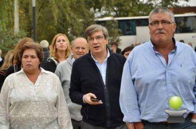 VICENTE GATICA ACOMPAÑÓ A SERGIO BUIL EN JORNADA DE GESTIÓN LOCAL EN RIVADAVIA