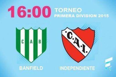 Independiente visita a Banfield necesitado de una victoria