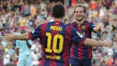 El Barcelona de Messi hizo 8 goles y se encamina al t�tulo