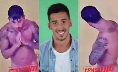 Nicol�s y el primer desnudo masculino en la casa de Gran Hermano 2015