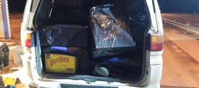 En un operativo cerrojo Gendarmería frustró el contrabando de casi 12 mil atados de cigarrillos